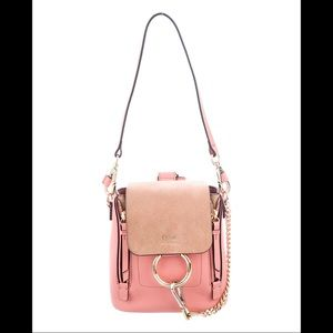 🔥🔥🔥Chloe Mini Faye Backpack